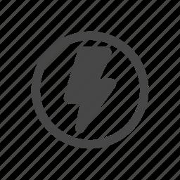 camera, flash, light, lightning icon