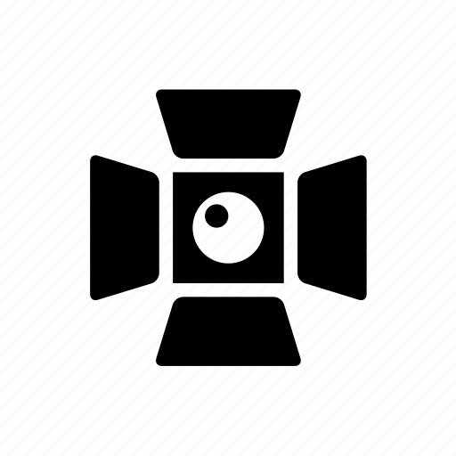equipment, gear, light, photo, photography, spotlight icon