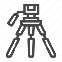 camera, shoot, tripod icon
