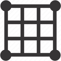 camera, digital, grid, photo icon