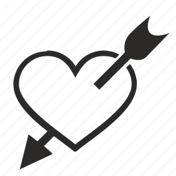 aim, heart, love, romantic, sex, target icon