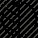 editing, photo, shadow icon