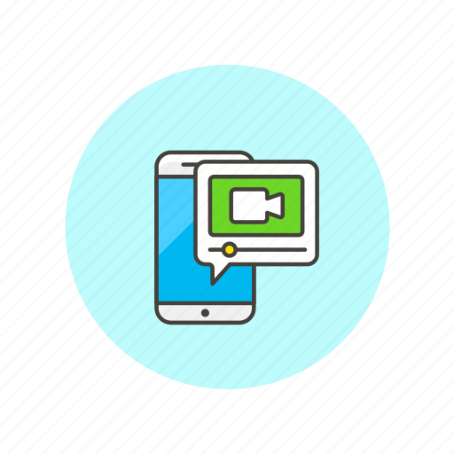 image, photo, picture, record, shot, smartphone, video, webcam icon