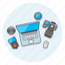 photo, photographer, video, workspace icon