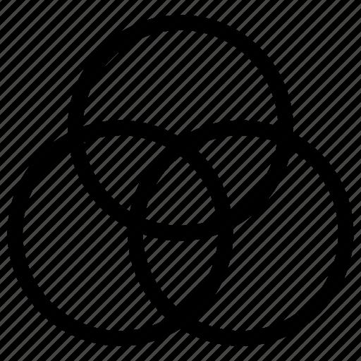 camera  edit  filter  hazard  photo  venn diagram icon
