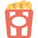 cinema, film, movie, movies, popcorn, theater icon