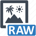 image, photo, raw icon