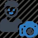 camera, photographer, photography icon