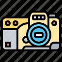 body, camera, dslr, photograph, sensor icon