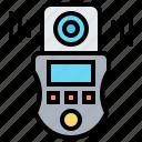 exposure, light, lux, measurement, meter icon