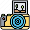 camera, digital, mirrorless, photography, technology icon