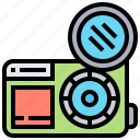 accessory, camera, filter, lens, optical icon