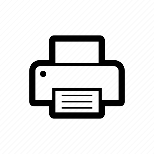 device, devices, print, printer icon