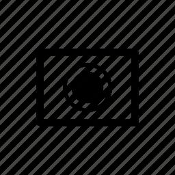 focus, frame, photo, point icon