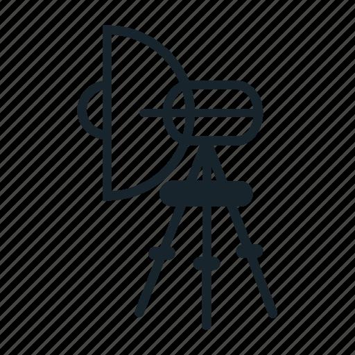 dslr, lamp, photo, photography, tripod icon