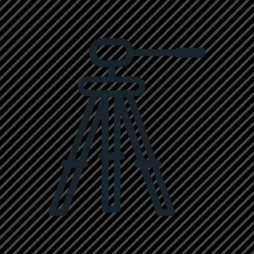 dslr, photo, photography, tripod icon