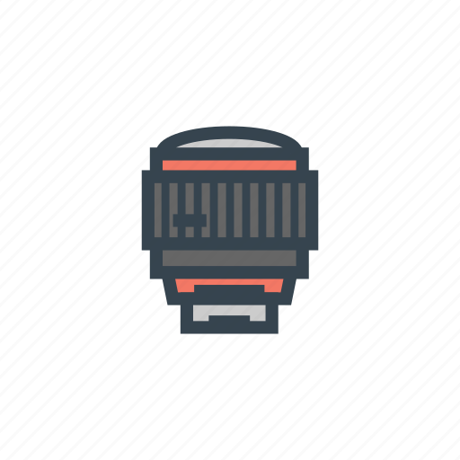 camera, fish eye, lens icon