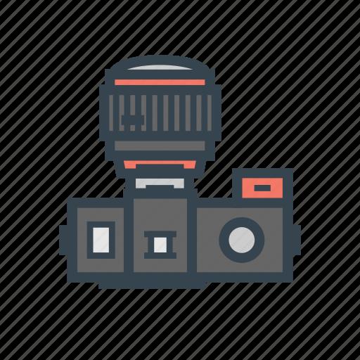 camera, dslr, mirrorless icon