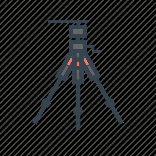 camera, dslr, tripod icon