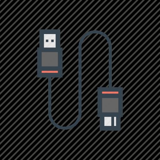 cable, camera, photo icon
