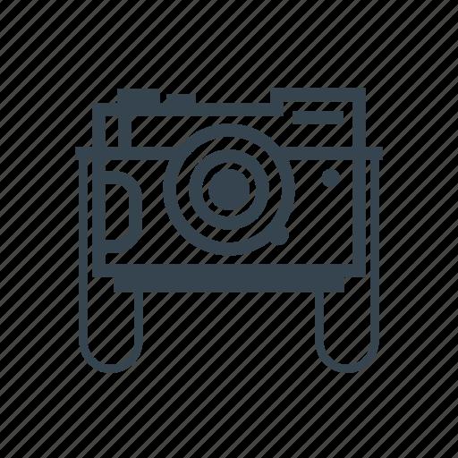 camera, photo, retro icon