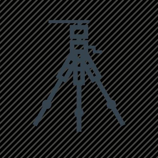 cam, photography, tripod icon