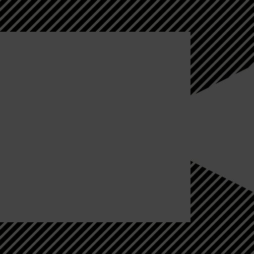 camcorder, handicam, motion, video icon