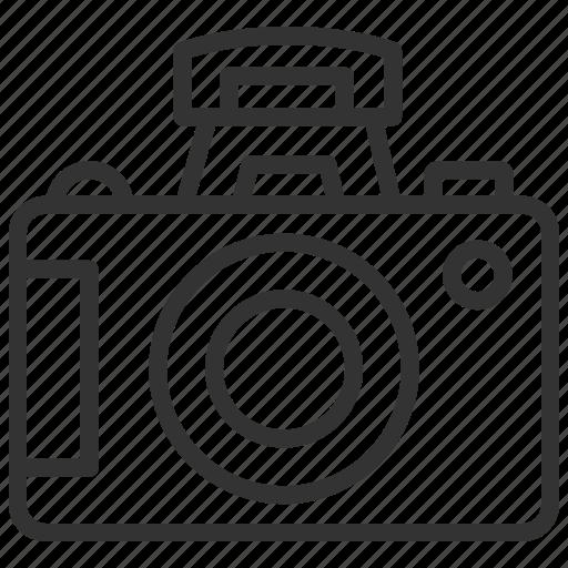 camera, dslr, flash, internal, photography icon
