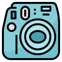 camera, instant, photo, photography icon