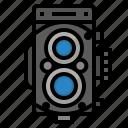 camera, format, medium, photography icon