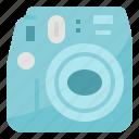 camera, instant, photo, photography