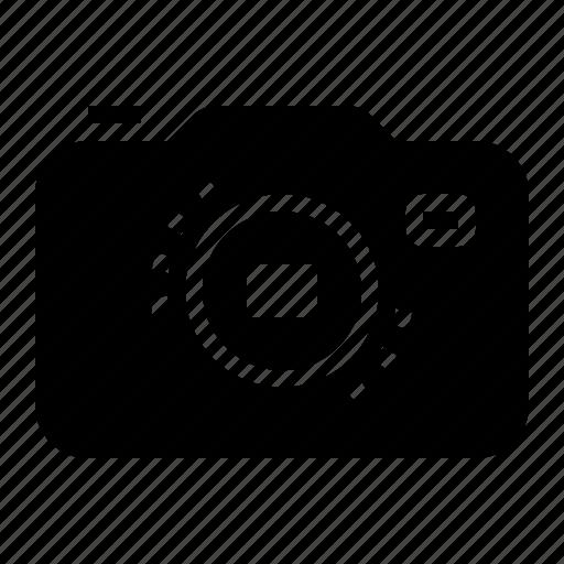 body, camera, dslr, interchangeable, lens icon