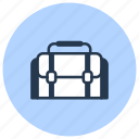 bag, equipment, photo icon