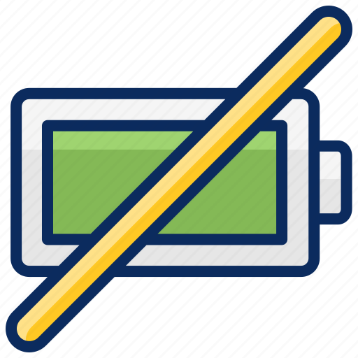 battery, eror, indicator, photography, unpluged icon