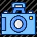 camera, dslr, flash, internal, photography, pro camera icon