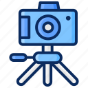 camera, photo, photography, photoshoot, taking photo, tripod icon
