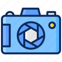 camera, diafragma, dslr, lens, photography icon