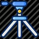 accessories, camera, equipment, photography, tripod icon