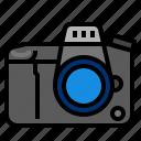 camera, digital camera, dslr icon