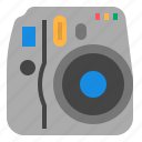camera, film, photography, polaroid icon