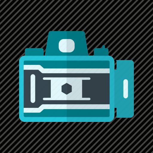 camera, equipment, lens, open, opening, photo, shutter icon