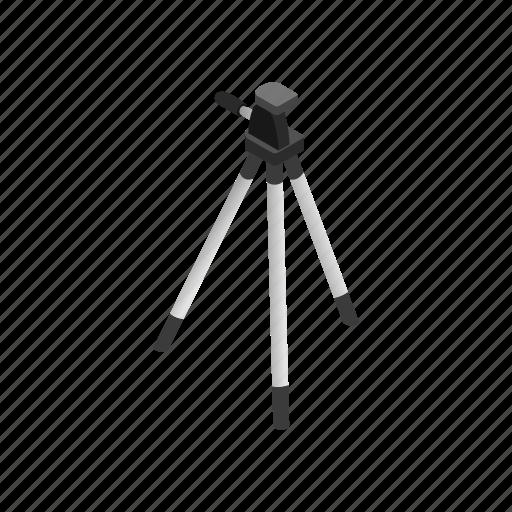 camera, equipment, isometric, lens, photo, photography, tripod icon