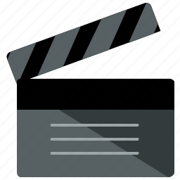 camera, cinema, clapperboard, director, film, movie, video icon
