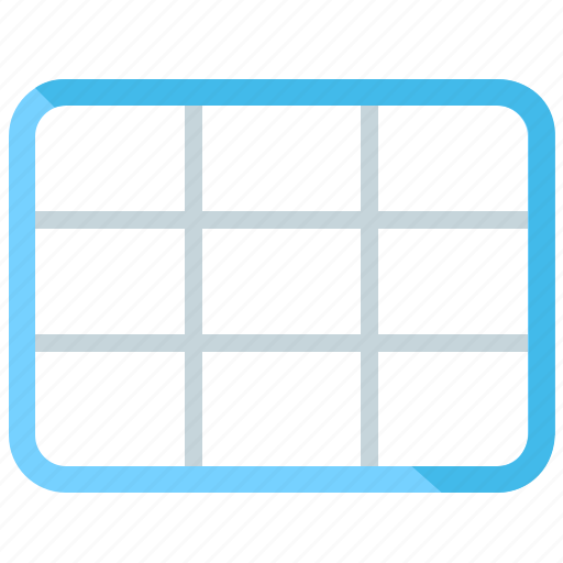 Grid, wireframe, layout, ui, template, ux icon - Download on Iconfinder