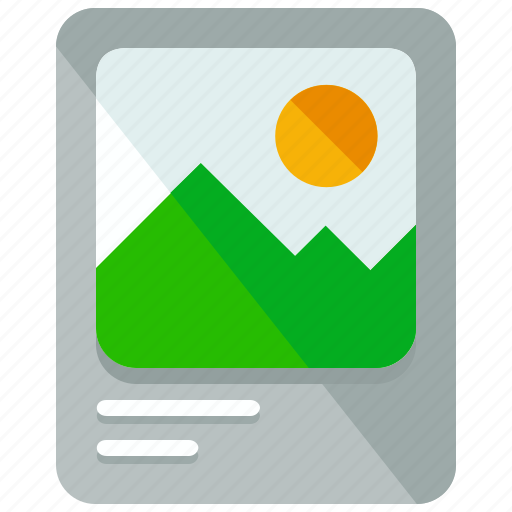 Image, gallery icon