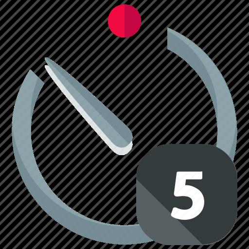 Timer, five icon - Download on Iconfinder on Iconfinder