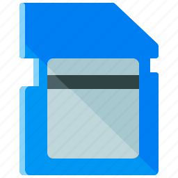 camera, card, data, memory, photography, sd, storage icon