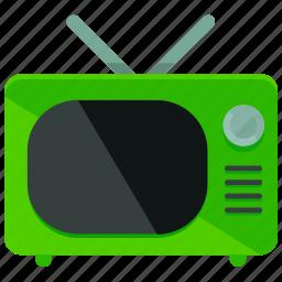 film, movie, old school, retro, screen, television, tv icon