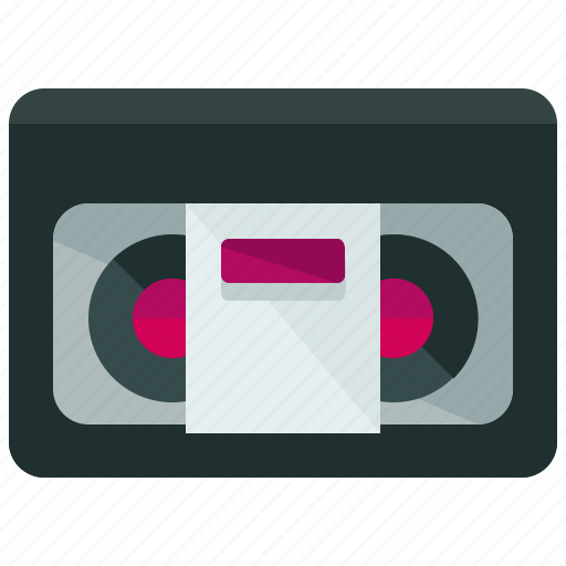 tape, video icon