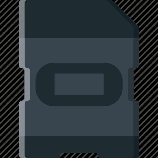card, photography, record, sd, video icon